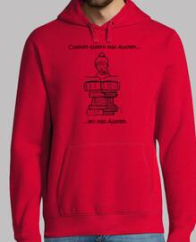 Jersey Austen con capucha para ellos - Austen hood sweater for the boys