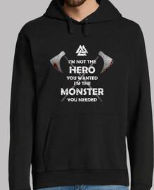 Jersey capucha HERO MONSTER Y.ES_051A_2019_Hero Monster
