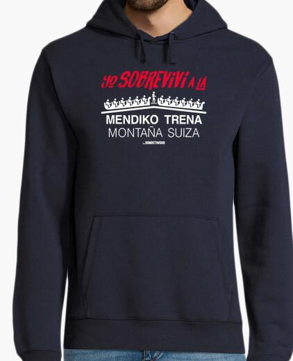 Jersey capucha hombre - Montaña Suiza