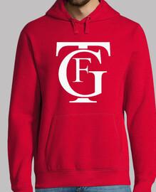 Jersey con capucha Falla Grande Rojo