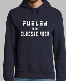 jersey con capucha: motivado por el rock clásico