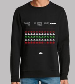 Jersey feo navideño Space Invaders