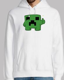 Jersey Minecraft Creeper para Hombre