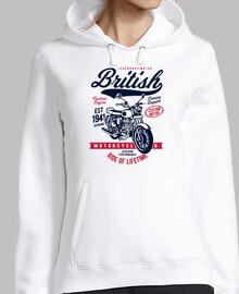 jersey rétro motos britanniques motards vintage motos garage