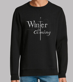jersey uomo inverno sta arrivando / arya stark