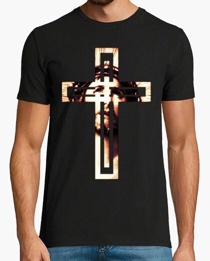 Camiseta jesús en la cruz