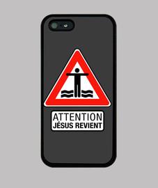 Jesus returns - iphone case