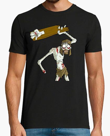 Camiseta jesus zombi zombie friki cine tv