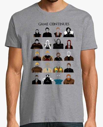 Tee-shirt jeu continue