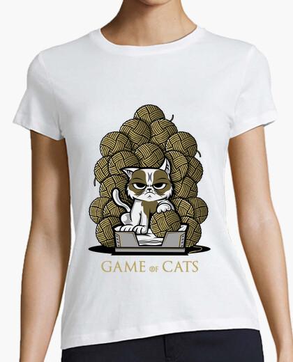 Tee-shirt jeu de chats