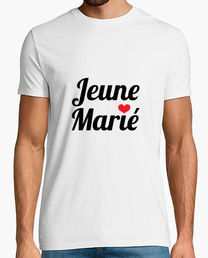Tee-shirt Jeune Marié / Mariage
