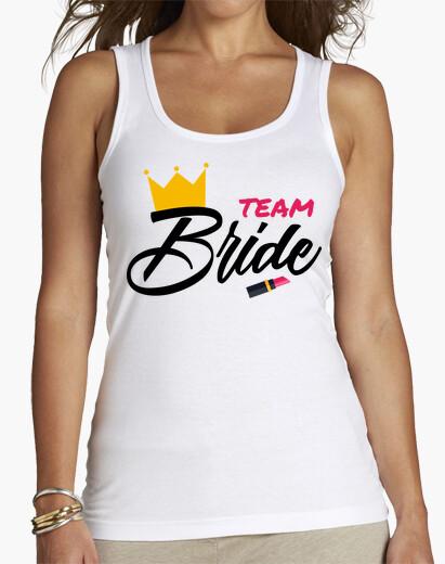 Tee-shirt jeune mariée d'équipe