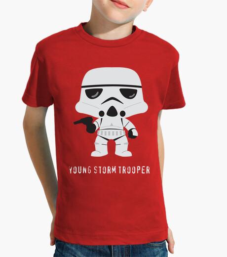 Vêtements enfant jeune stormtrooper