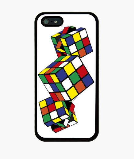 Coque iPhone jeux - cube rubik
