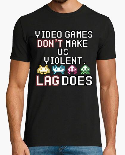 Tee-shirt jeux vidéo