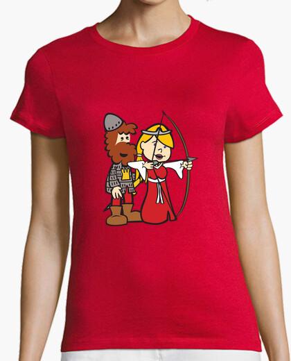 Camiseta Jimena Arco Chica Rojo