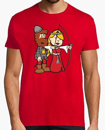 Camiseta Jimena Arco Chico Rojo