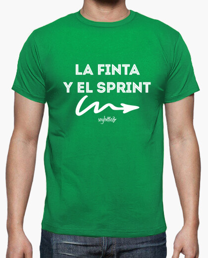 Joaquín: the feint and sprint t-shirt