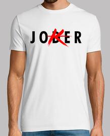 JODER PAYASO - Hombre, manga corta, blanco, calidad extra