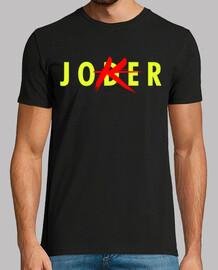 JODER PAYASO - Hombre, manga corta, negra, calidad extra