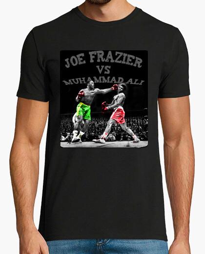 Camiseta joe frazier vs muhammad Ali