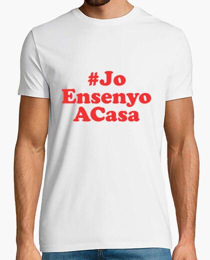 Camiseta JoEnsenyoACasa