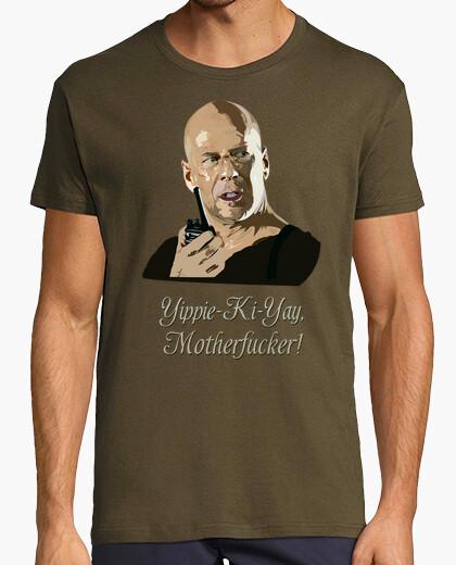 Camiseta John McClane - Yippie-Ki-Yay,...