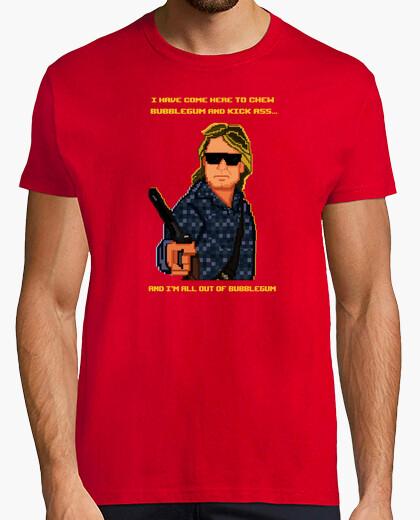 Camiseta John Nada Pixel Art