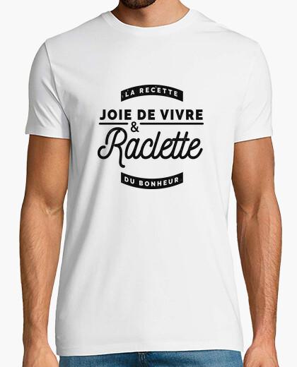 Tee-shirt Joie de vivre et Raclette