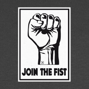 Camisetas Join the fist