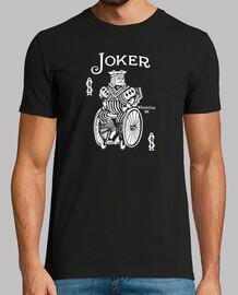 Joker on wheels Camiseta manga corta hombre
