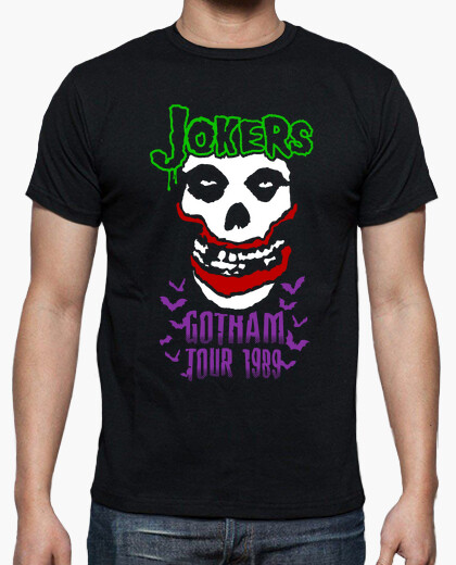 Joker's Gotham Tour 1989 Batman T-shirt