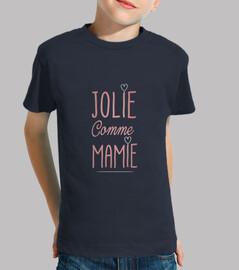 Jolie comme mamie