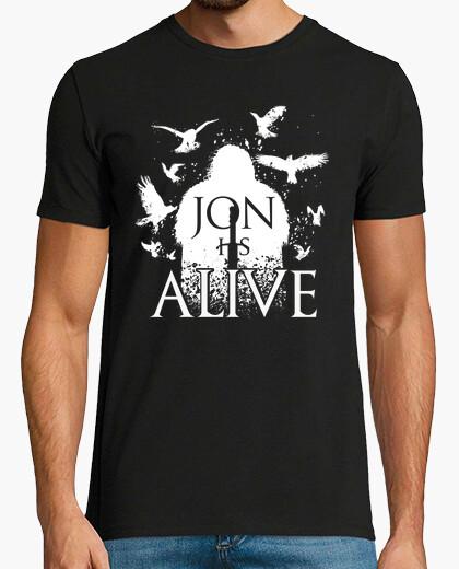 Tee-shirt jon est vivant