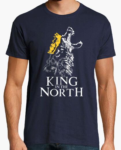Camiseta Jon Nieve - Rey en el Norte (Juego de Tronos)