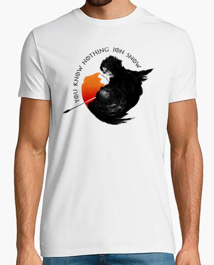 Camiseta Jon Nieve e Ygritte - You Know Nothing Jon Snow (Juego de Tronos)