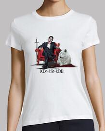 Jon Snob camiseta mujer