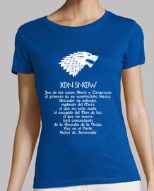 Jon Snow - Mujer