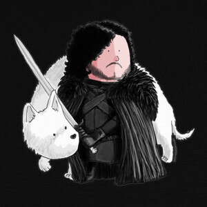 T-shirt Jon Snow by Calvichi's (WEB)