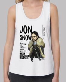 Jon Snow camiseta chica