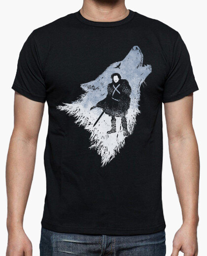 Camiseta Jon Snow shadow