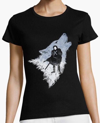 Camiseta Jon Snow shadow