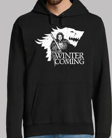 Jon Snow Stark sudadera capucha