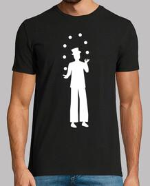 jongleur sur échasses