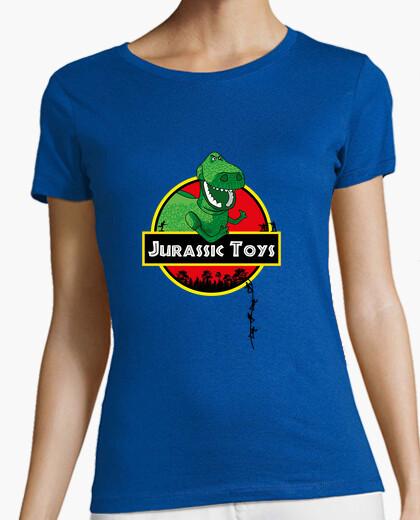 Tee-shirt jouets jurassiques, femme