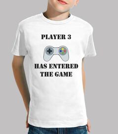 joueur 3 est entré dans le jeu / joueur