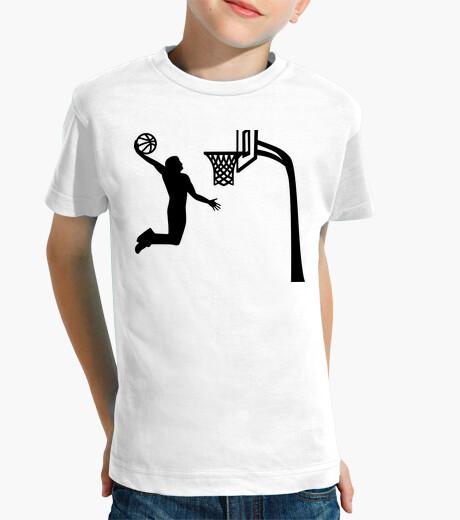 Vêtements enfant joueur de basketball