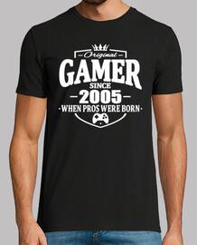 joueur depuis 2005
