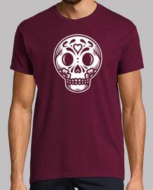 jour de la design visage de skull mort