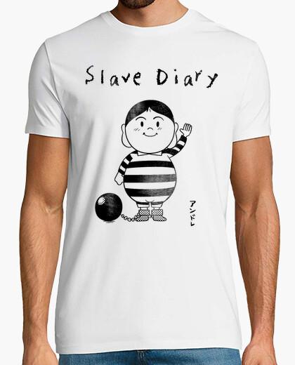 Tee-shirt journal esclave